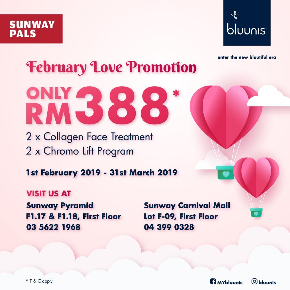 Facial treatment @ RM388 (worth RM1,356)