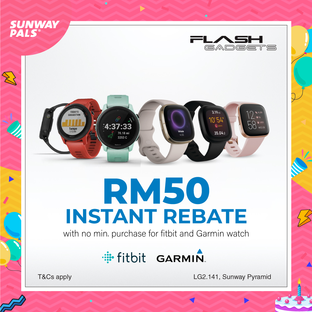 RM50 Instant Rebate