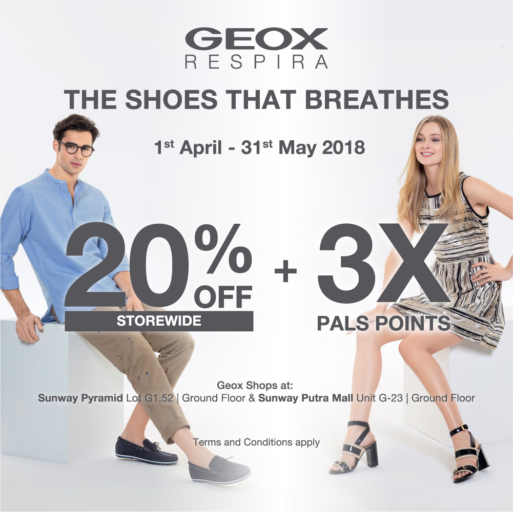 3x Pals Points and 20% Off Storewide