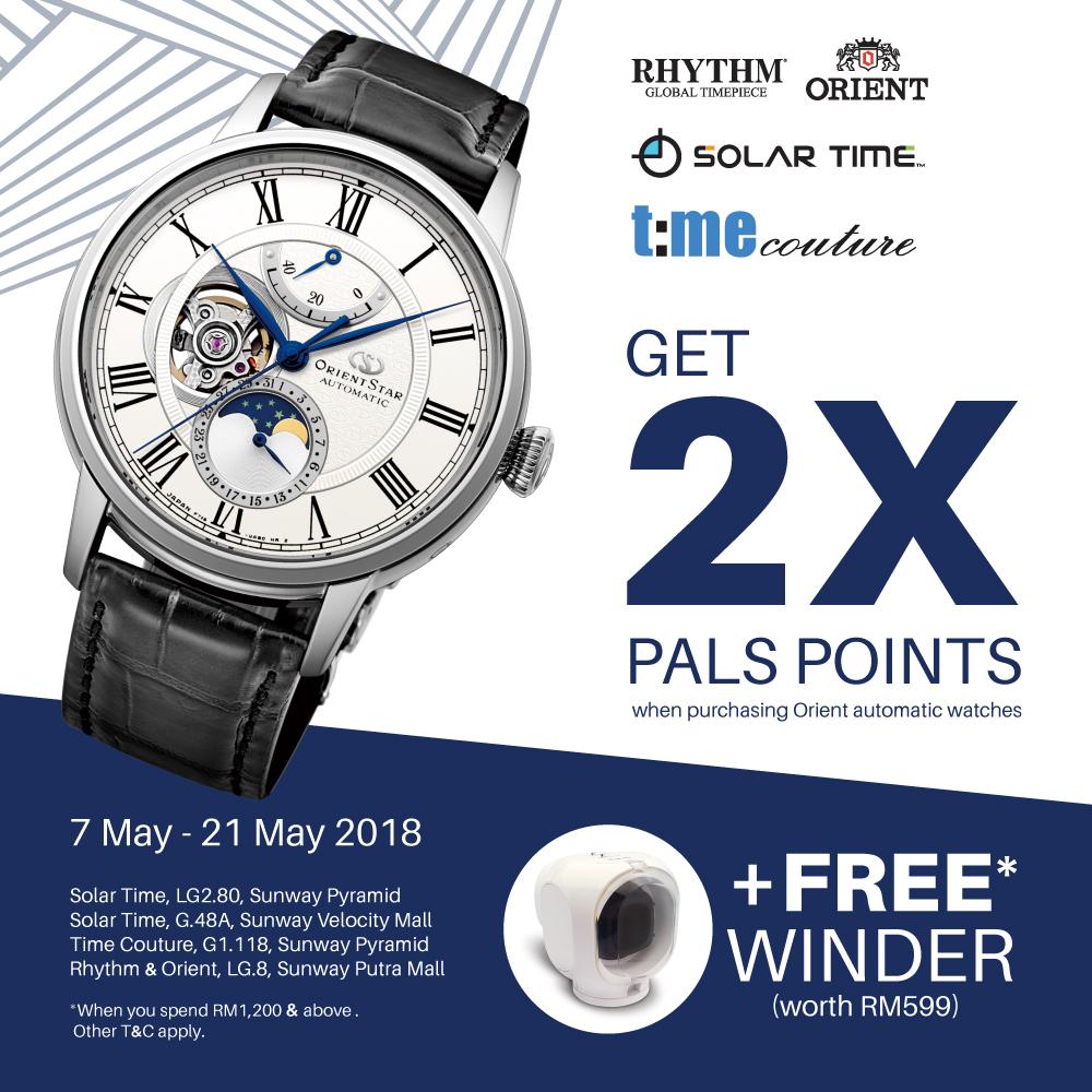 2x Pals Points + Free Winder