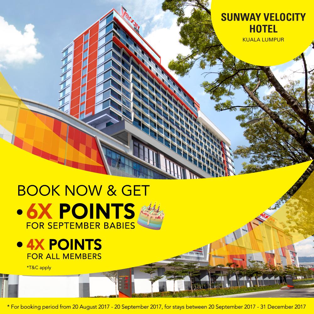 Sunway Velocity Grand Hotel Launch Promo