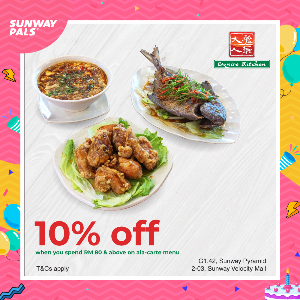 10% OFF total bill