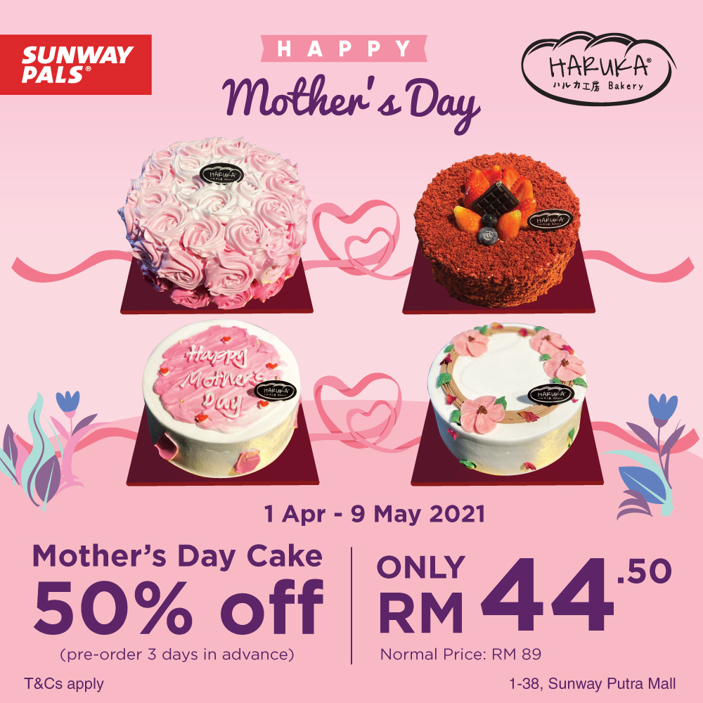 50% OFF on Mother's Day Cake