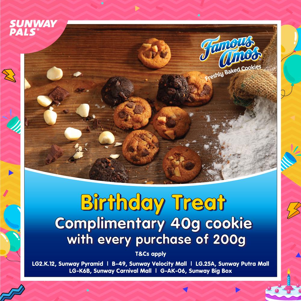 FREE 40g of Cookies