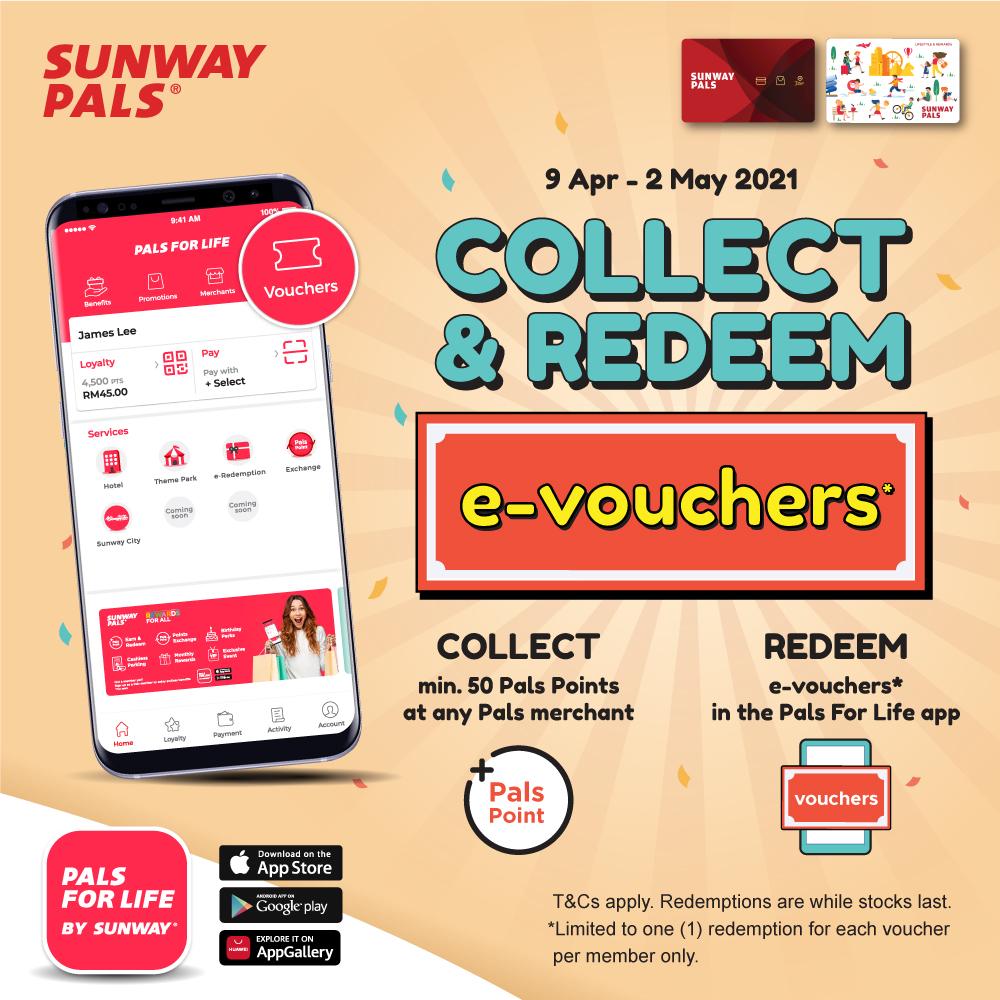 Collect & Redeem e-Vouchers