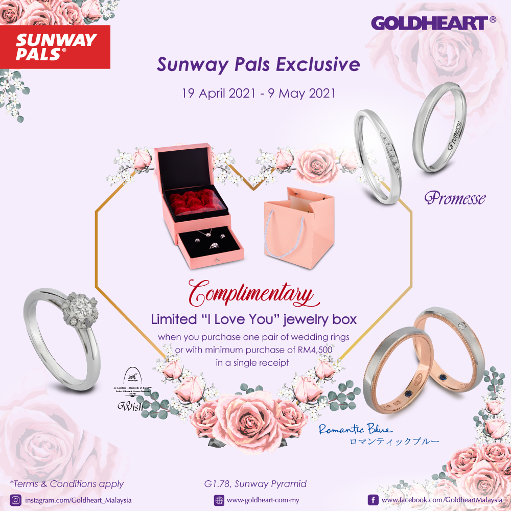 FREE 'I Love You' Jewellery Box