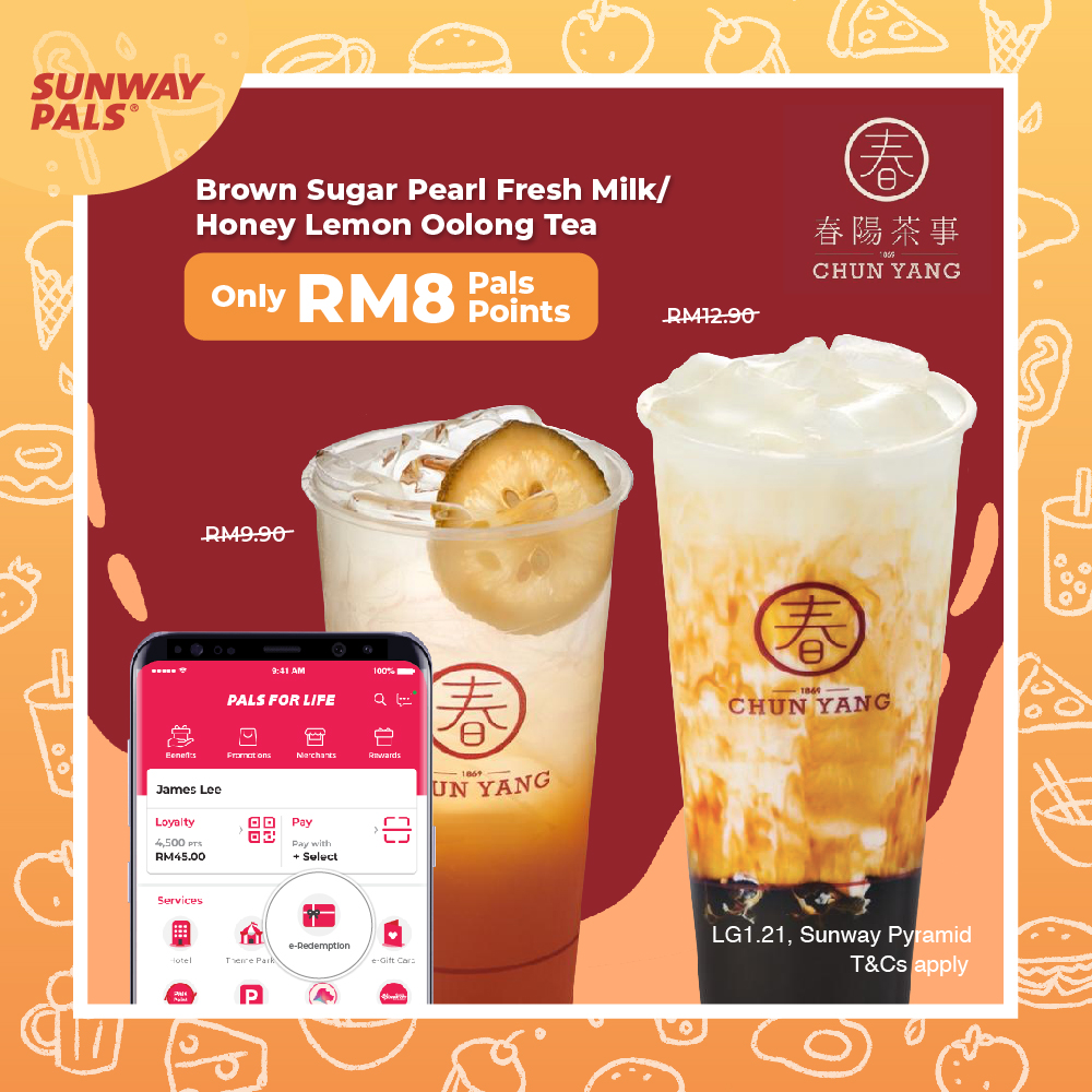 Signature Drinks for RM8