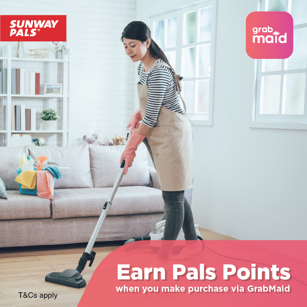 Earn Points with GrabMaid