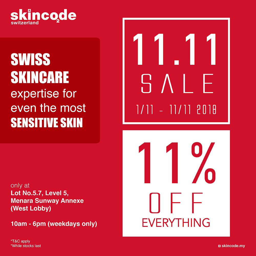 11% Discount Storewide