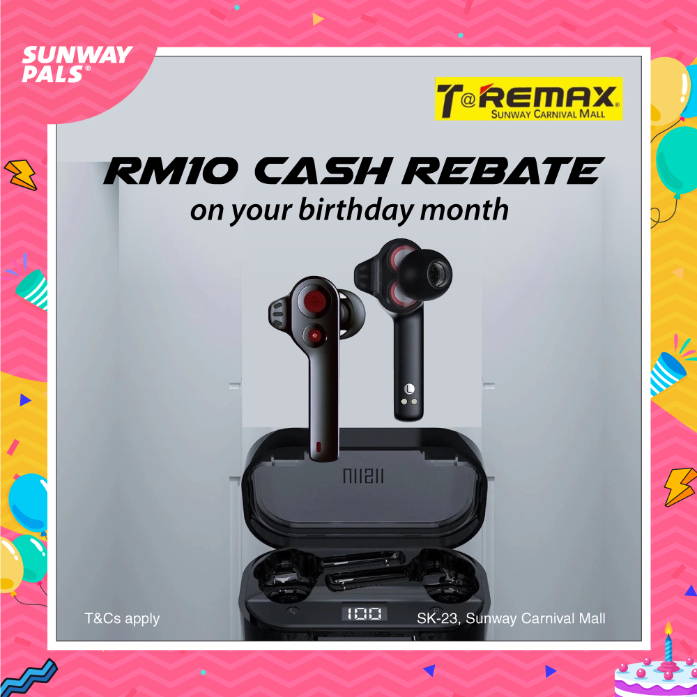 RM10 Instant Rebate