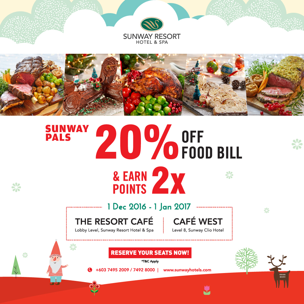 Festive Year End 2016 Promotion