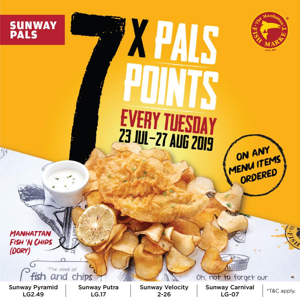 7x Pals Points