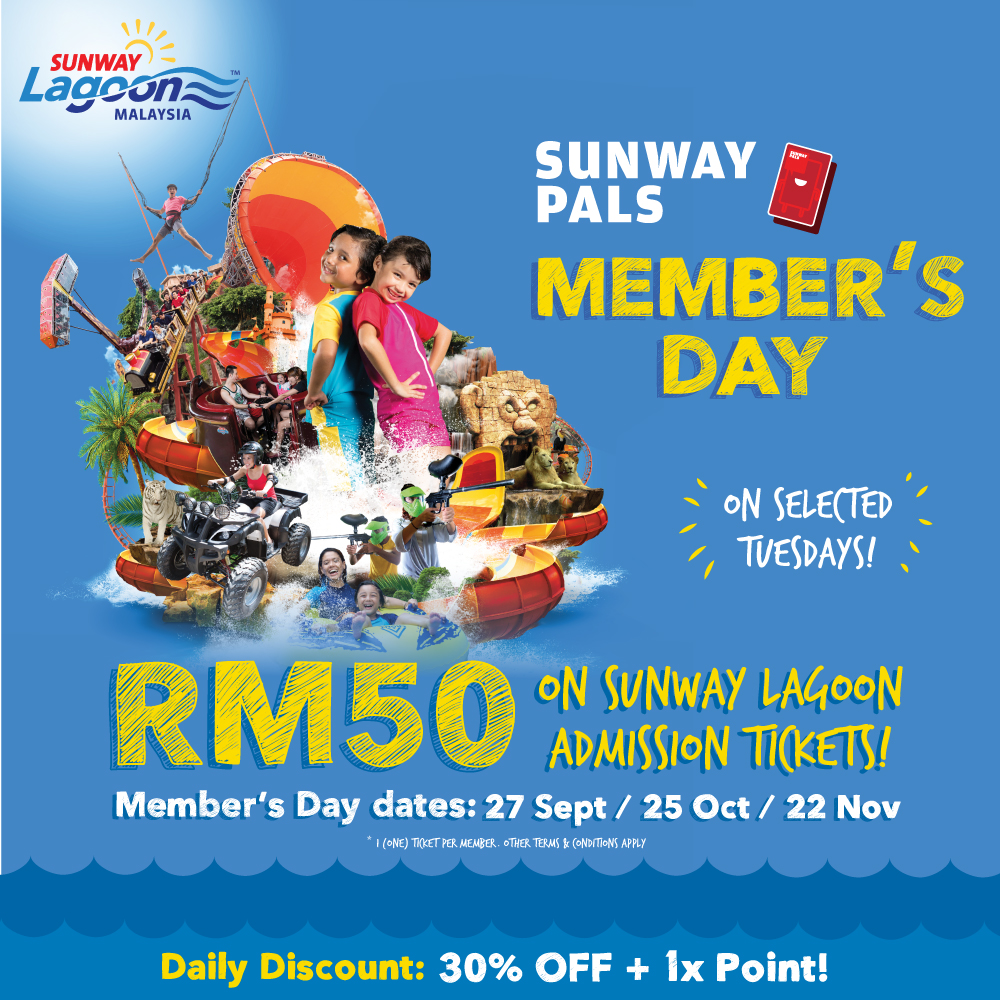 Sunway Pals Member's Day