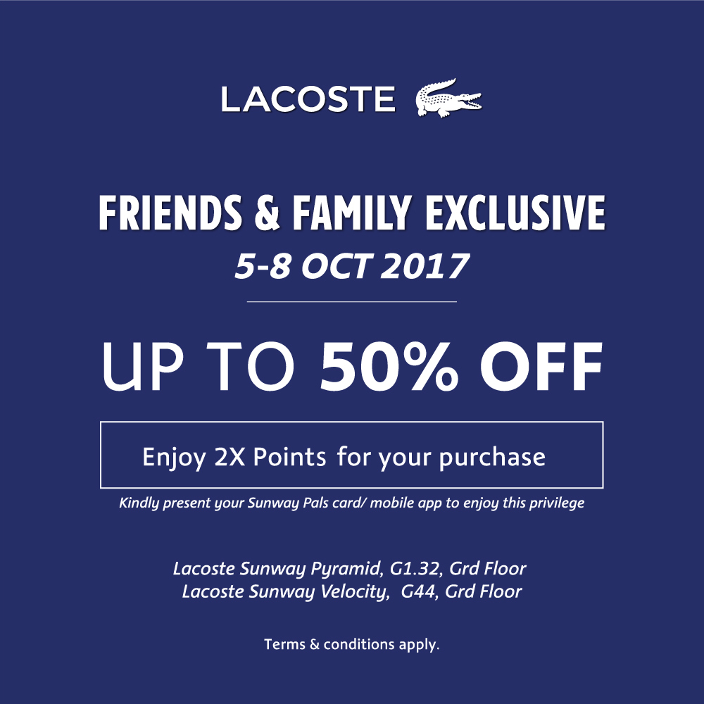 Get 2x points and up to 50% discount