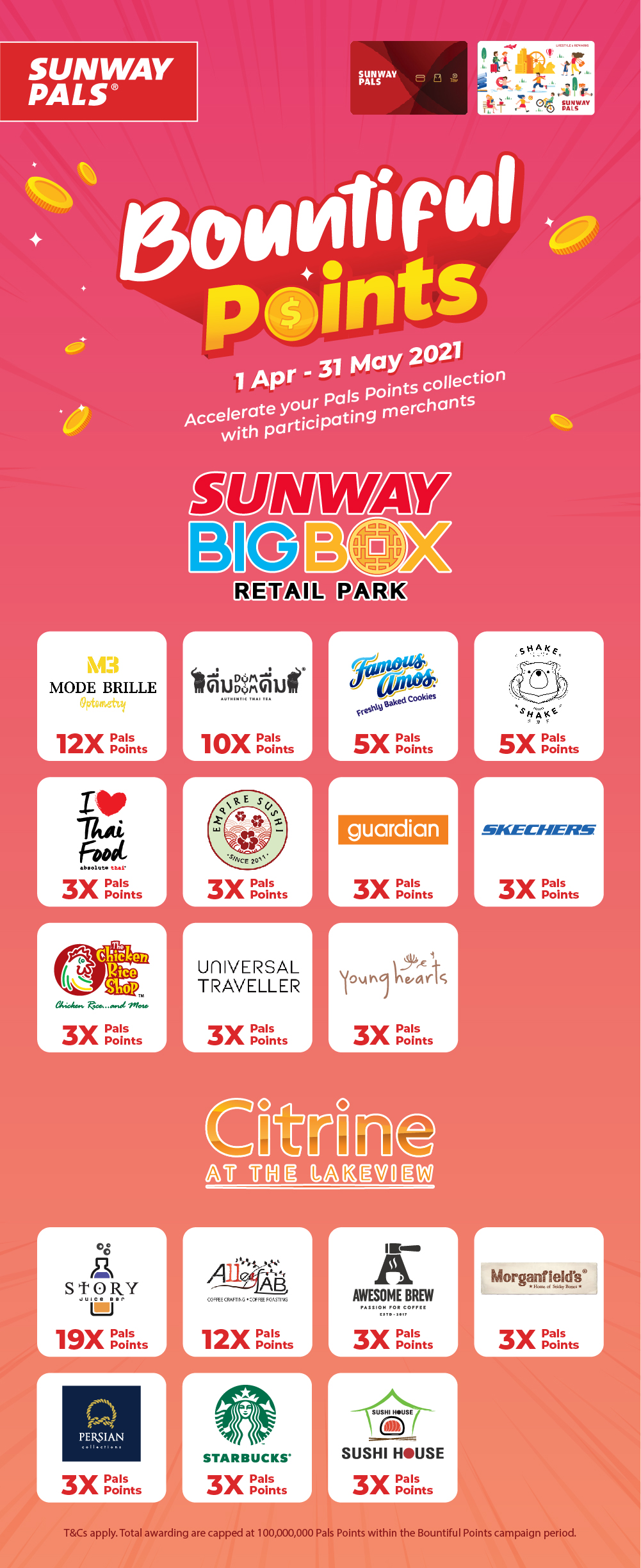 Collect up to 19X Pals Points Deals