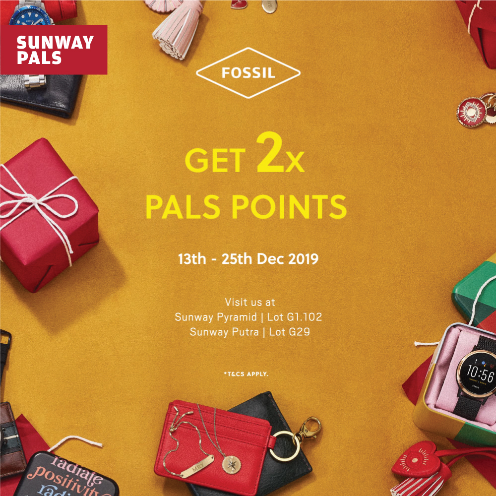 Year End Sale up to 50% off* & 2x Pals Points