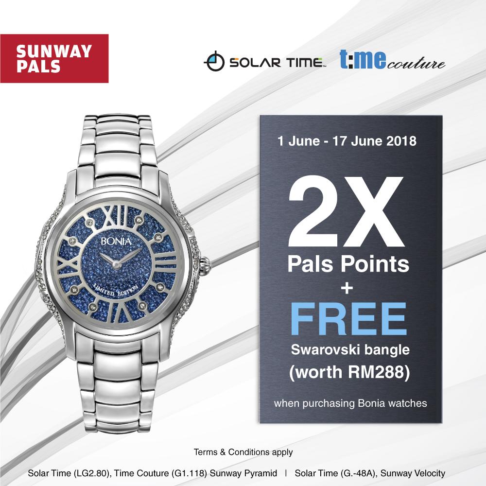 2x Pals Points + Free Bangle