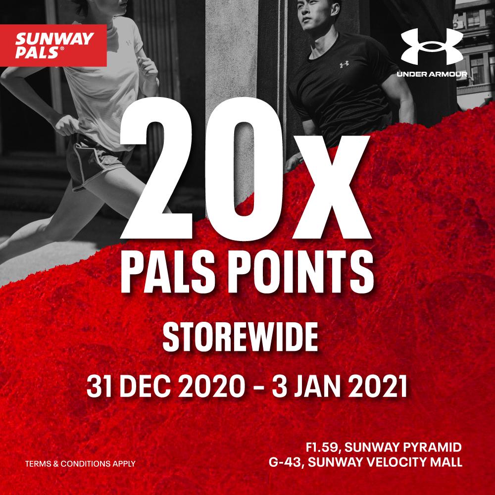 20X Pals Points