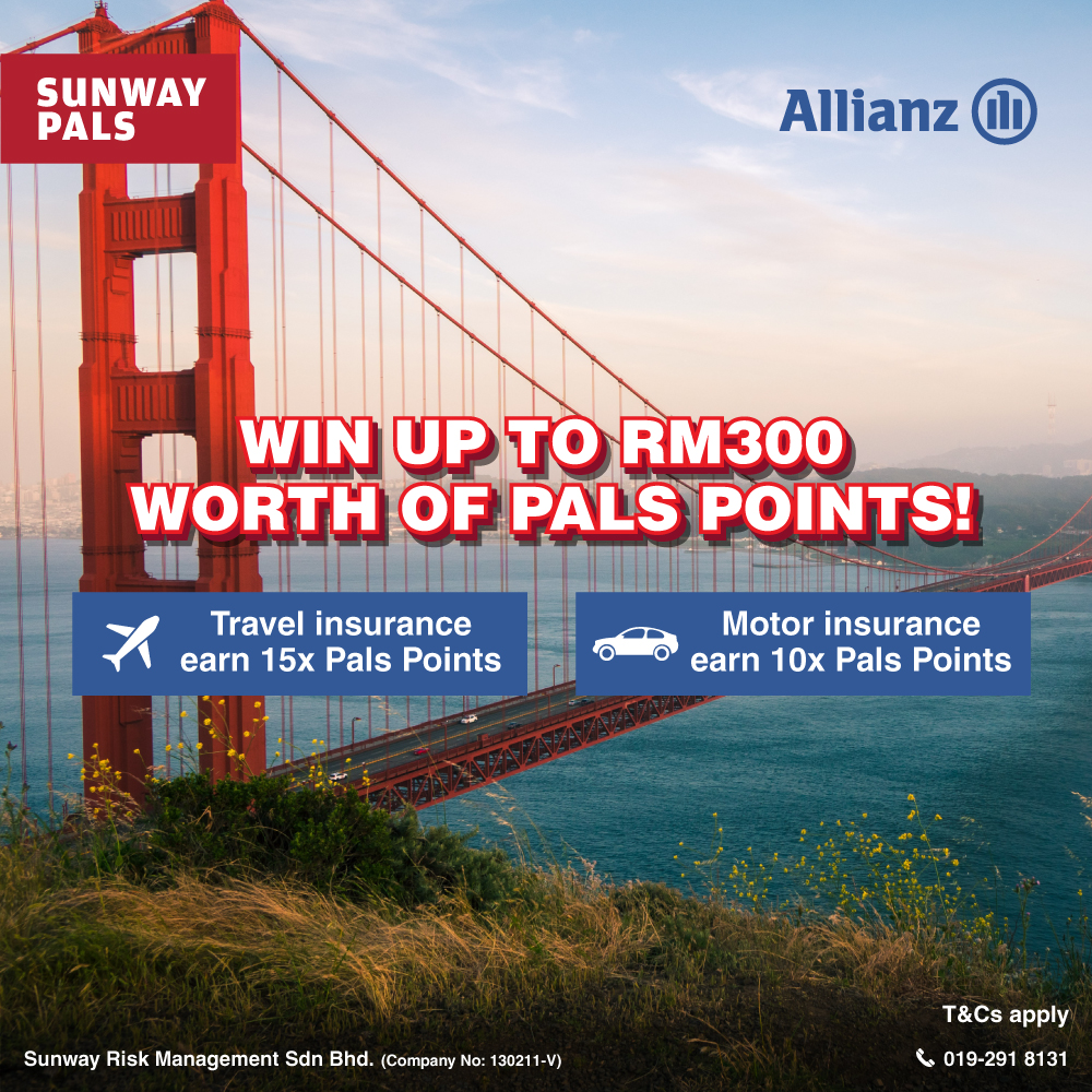 Win your share of RM1,000 worth of Pals Points!