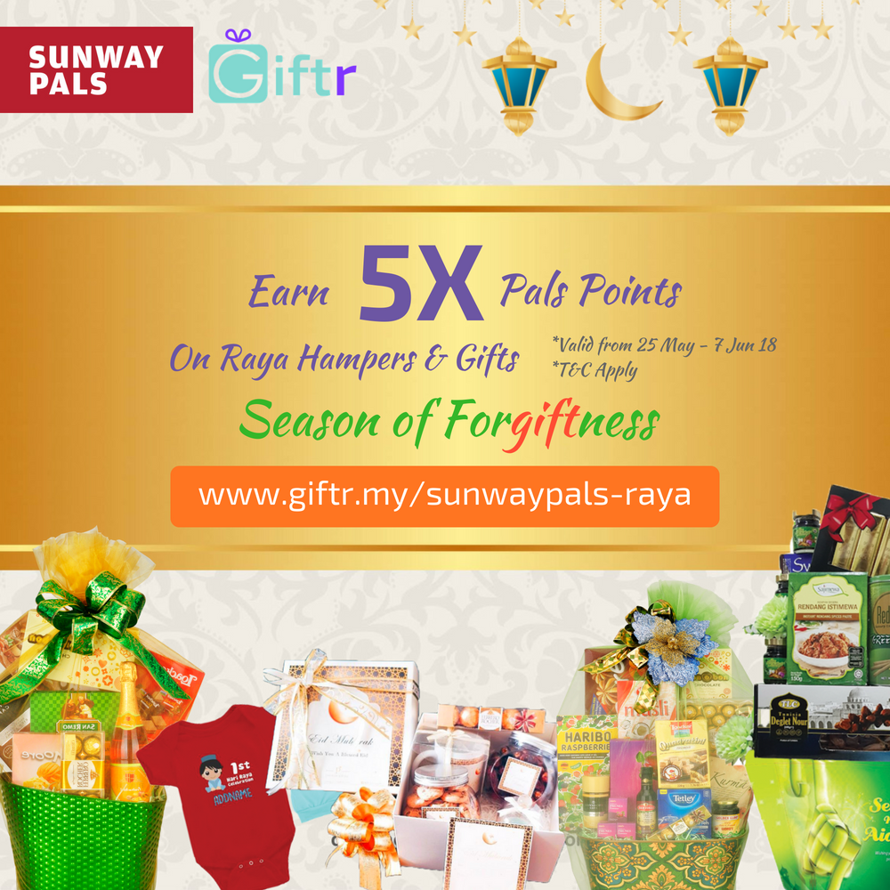 5x Pals Points on Hari Raya Collection hampers