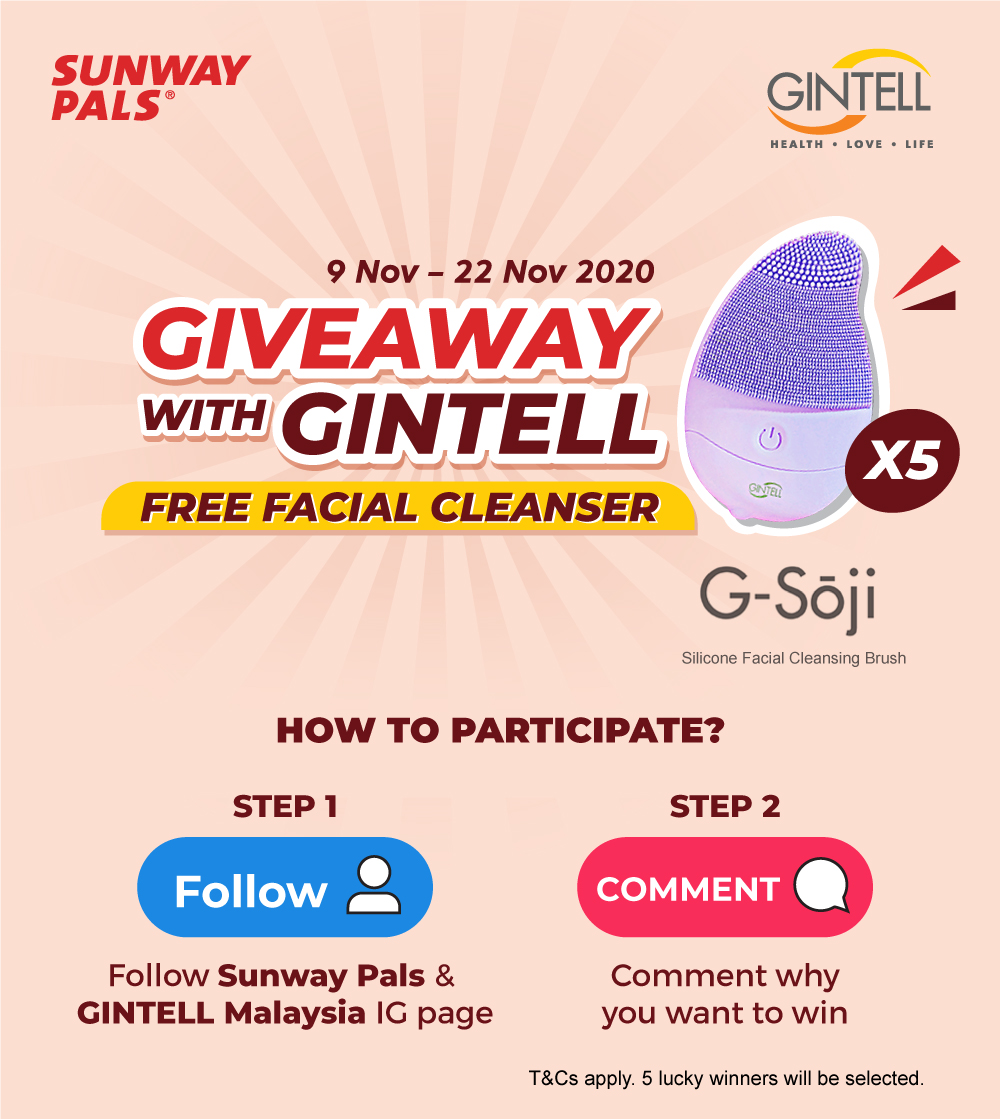 GINTELL Facial Cleanser Giveaway!
