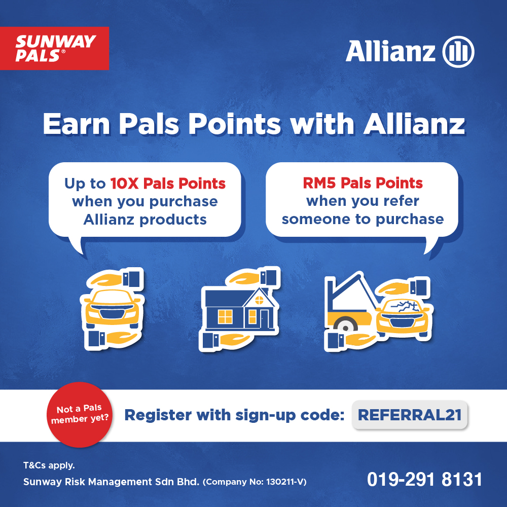 Earn Pals Points with Allianz