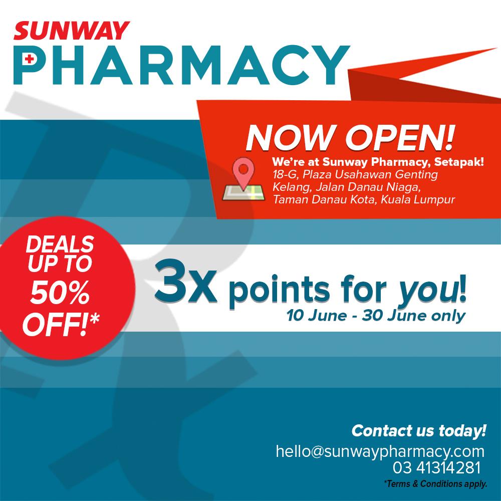 Sunway Pharmacy Setapak Opening