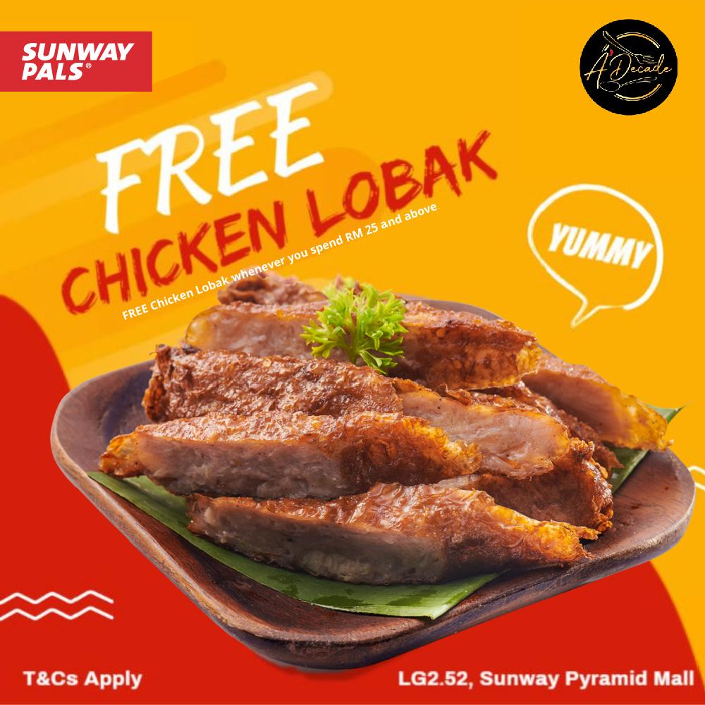 FREE Chicken Lobak