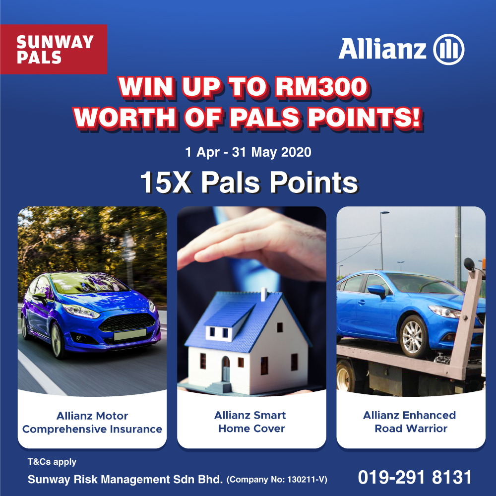 15x Pals Points + Prizes Worth Up To RM300