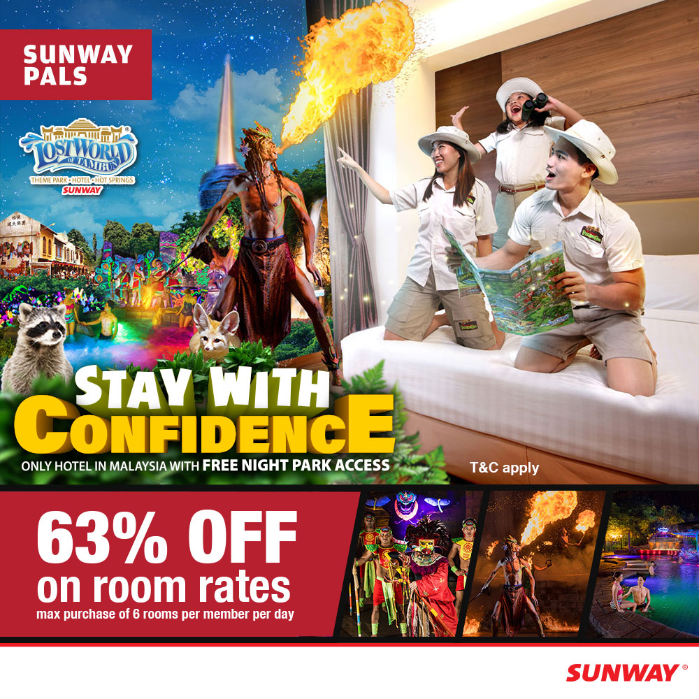63% OFF on Room Rates
