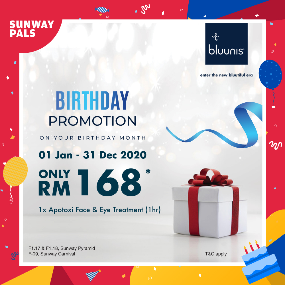 Face & Eye Treatment for ONLY RM168