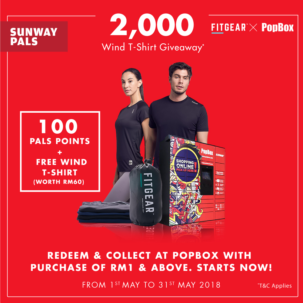 100 Pals Points + A Free T-shirt