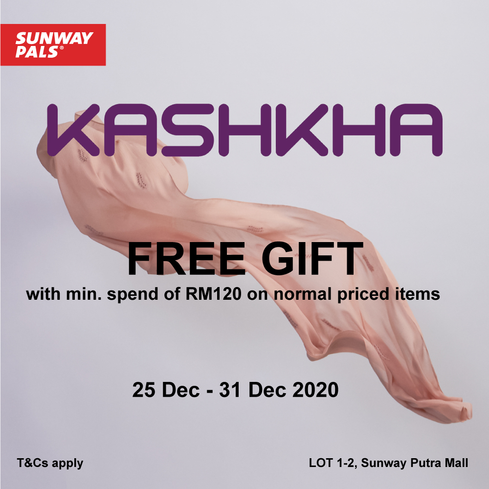 FREE Gifts worth up to RM79!