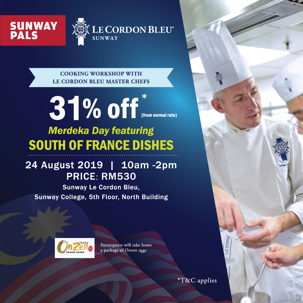 31% off on South of France Dishes Workshop