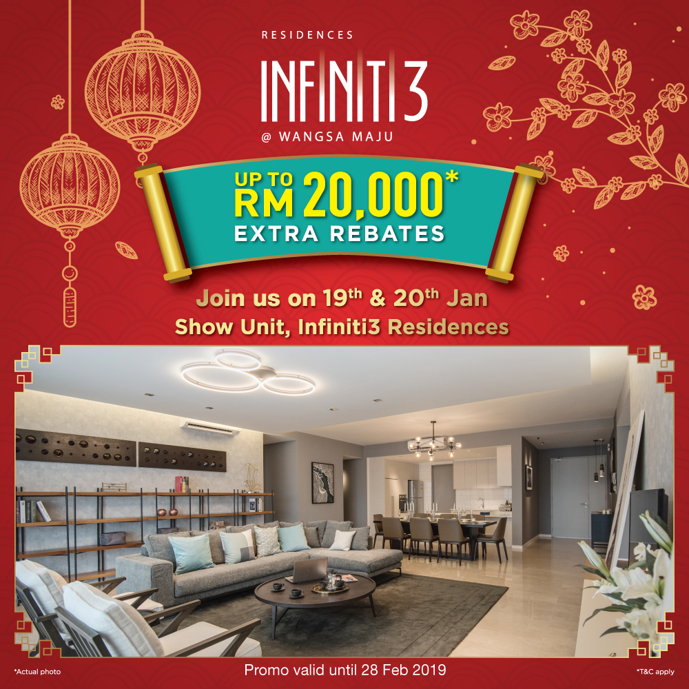 Infiniti3 Residences – CNY Exclusive for Sunway Pals!