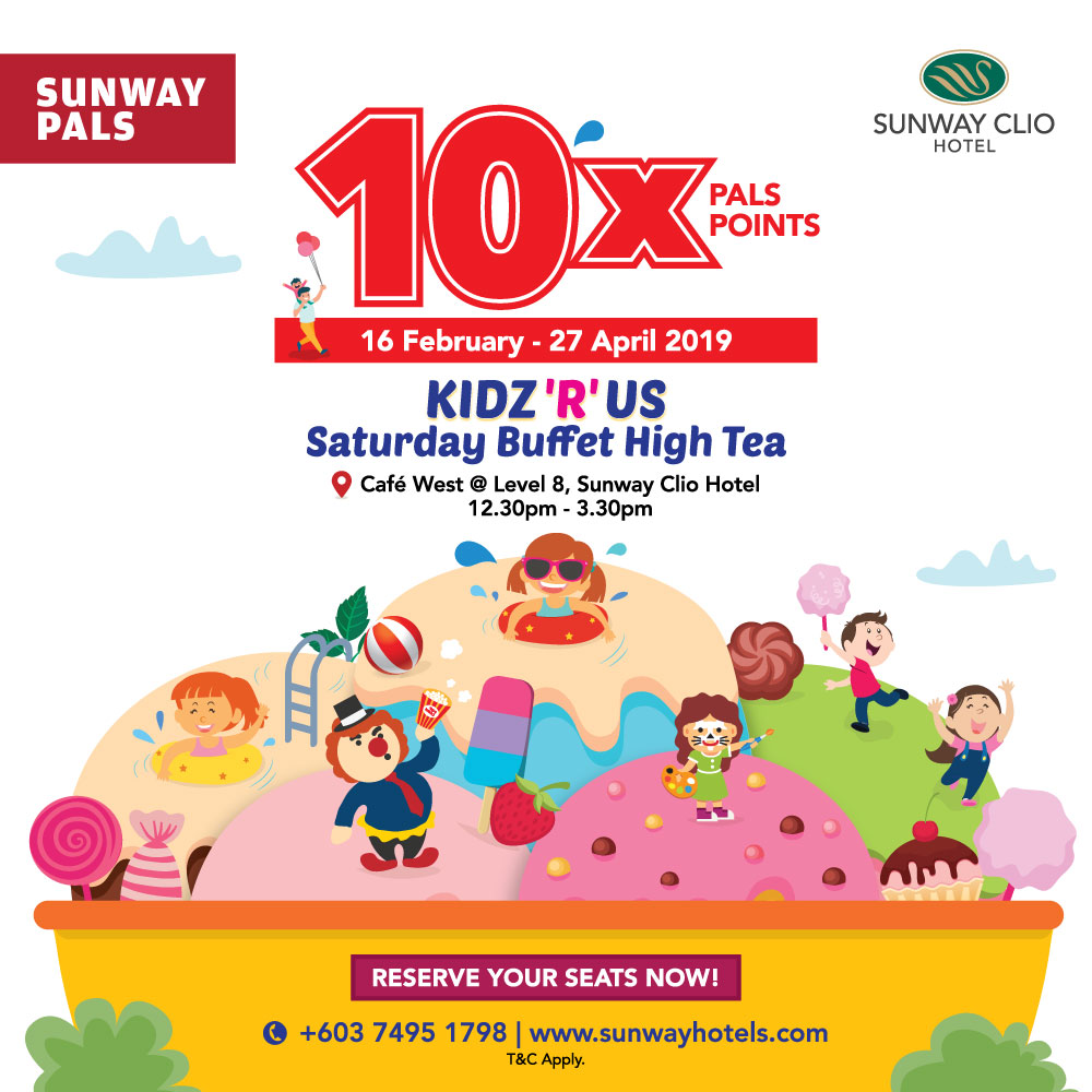 10x Pals Points on total food and beverage bill