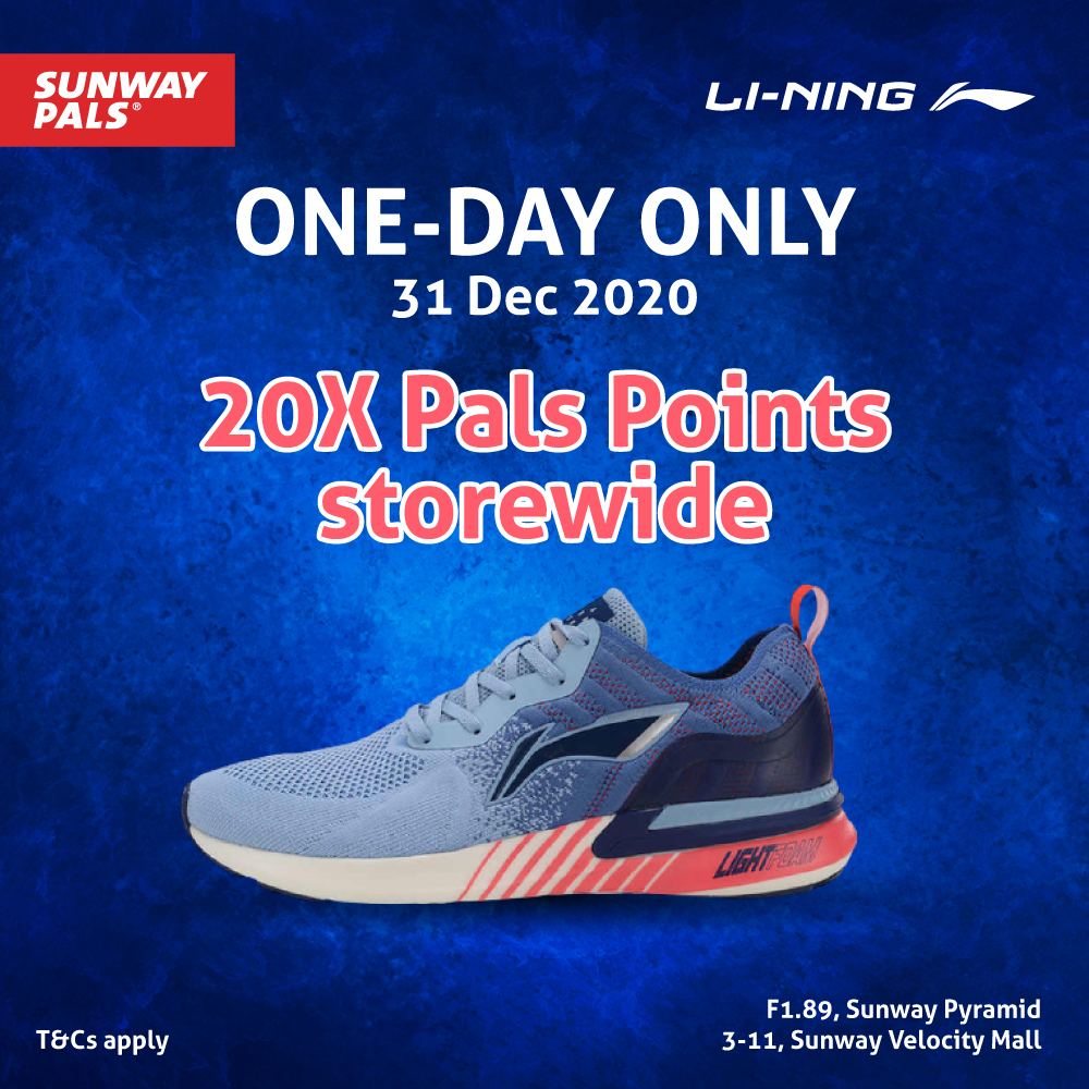 ONE-DAY ONLY: 20X Pals Points
