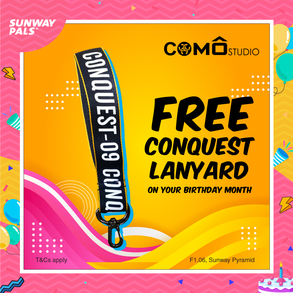FREE Conquest Lanyard