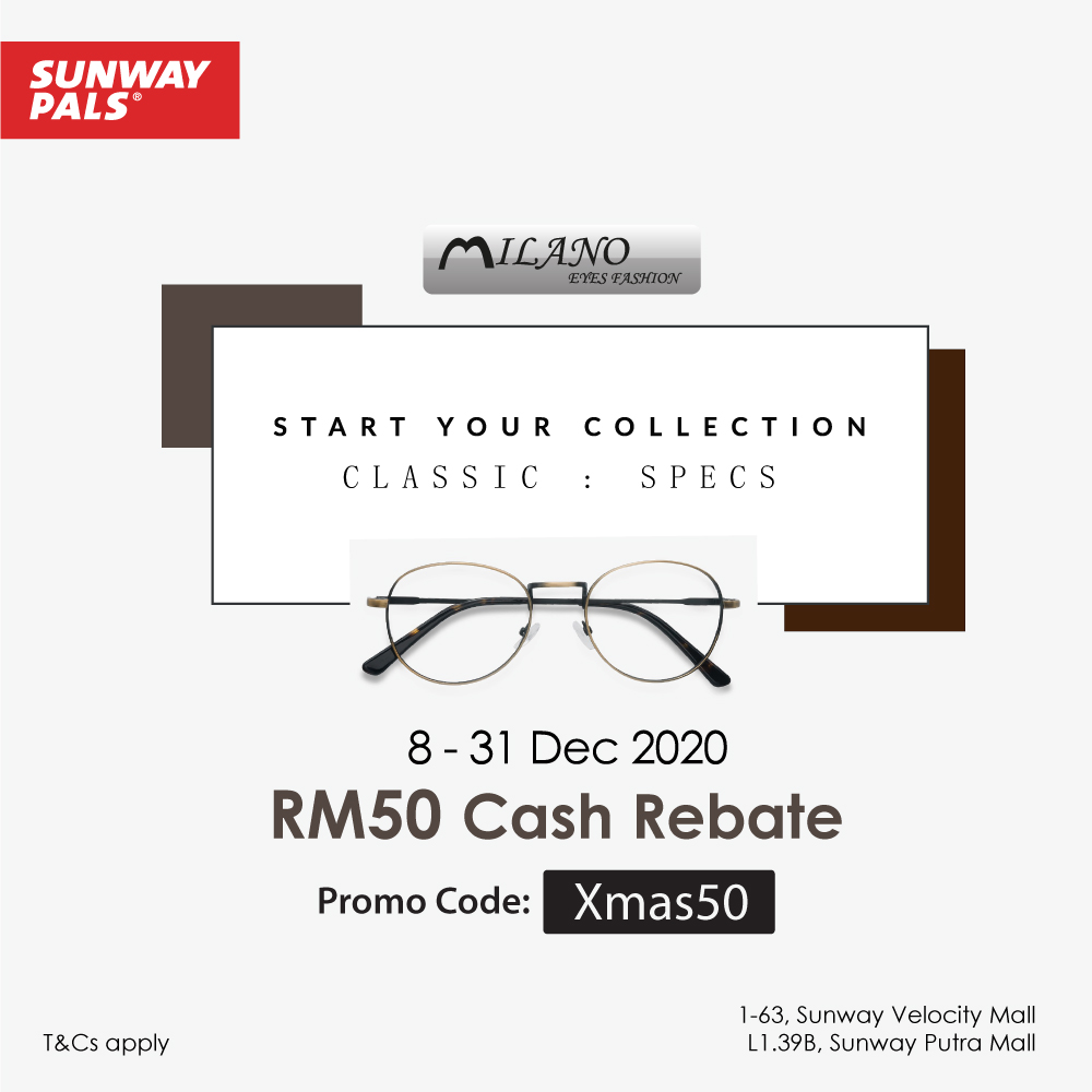RM50 XMAS Rebate