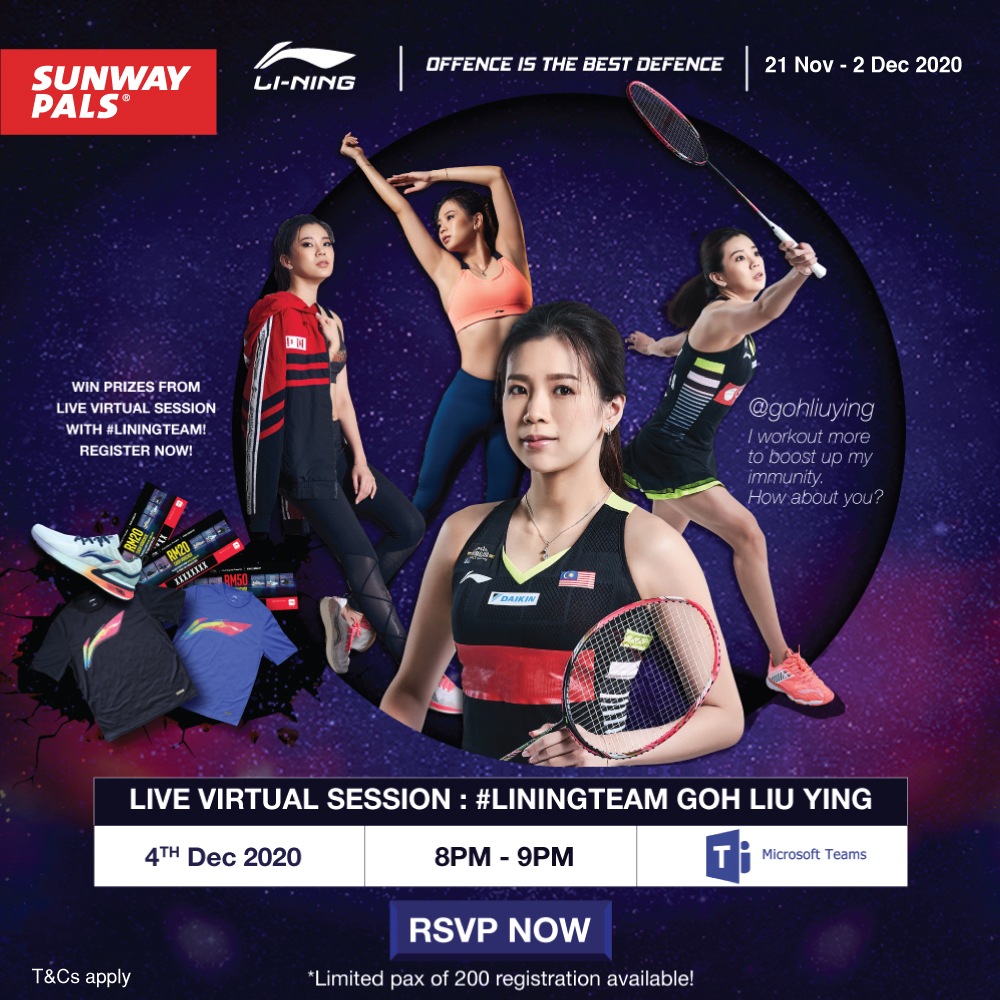 Live Virtual Session with Goh Liu Ying!