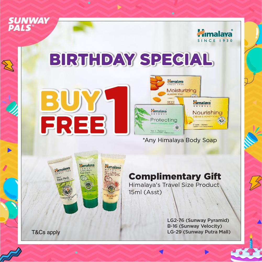 BUY 1 FREE 1 + FREE Gift