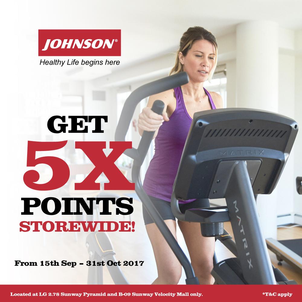 Get 5x points